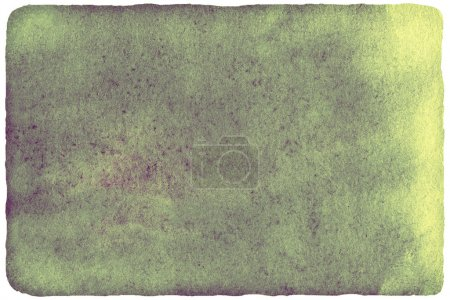 Photo for Watercolor background for your design. Abstract hand drawn template with rough edges. Painted texture with watercolour stain. - Royalty Free Image