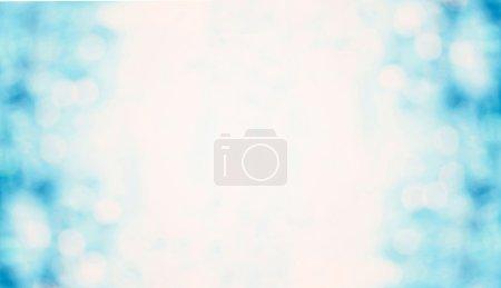 Foto de Fondo azul desenfocada luces Navidad festiva - Imagen libre de derechos