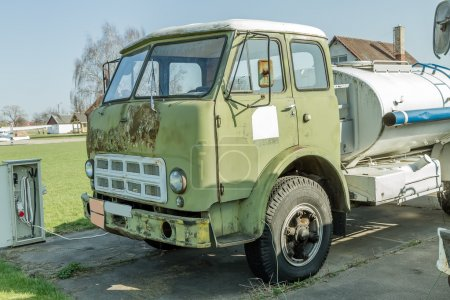 old Truck with fuel