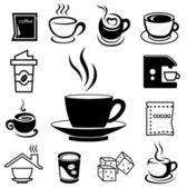 coffee icon set 02