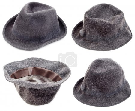 Sombreros negros viejos