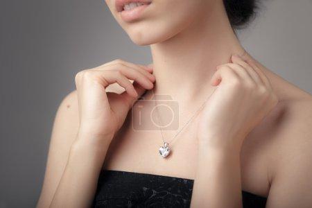 Photo pour Image d'un beau bijou précieux - image libre de droit