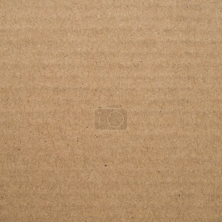 Photo for Brown cardboard texture (background) - Royalty Free Image