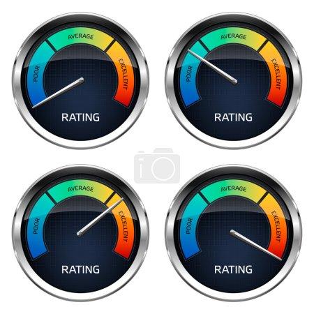 Realistic Rating Dashboard