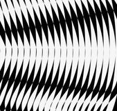 Abstract black and white lines or waves background Vector illustration