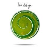 Zelený inkoust mrak