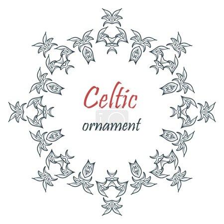 Mandala celtic ornament.