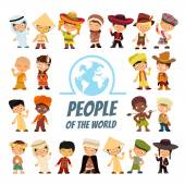 people of various nationalities