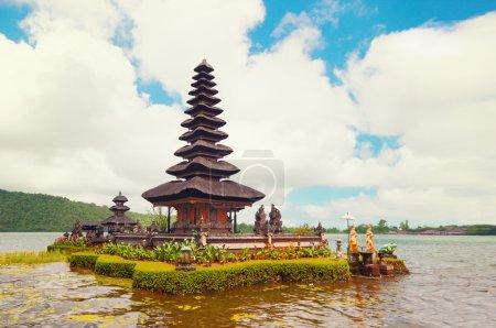 Photo for Ulun Danu temple in Bali island, Indonesia - Royalty Free Image