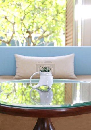 Foto de Diseño moderno salón comedor con sofá - Imagen libre de derechos