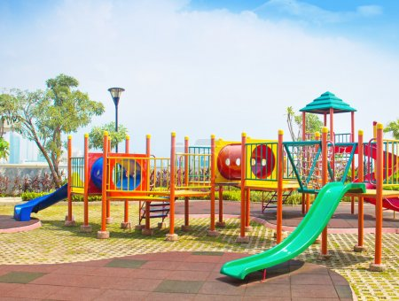 Photo for Colorful playground - Royalty Free Image