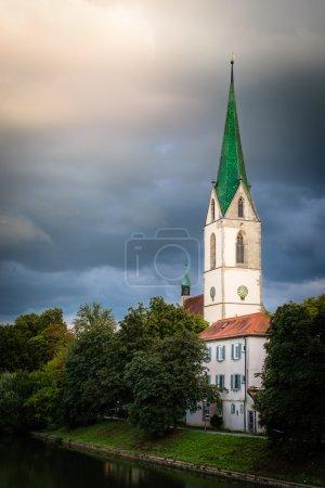 Beautiful church tower