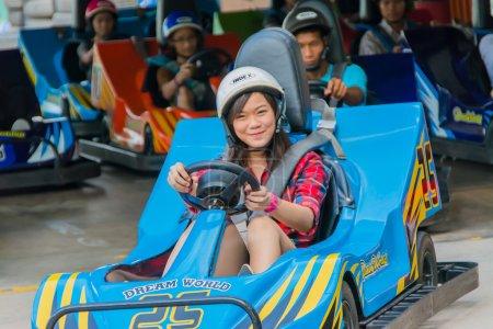 go kart rennen in traumwelt thailand