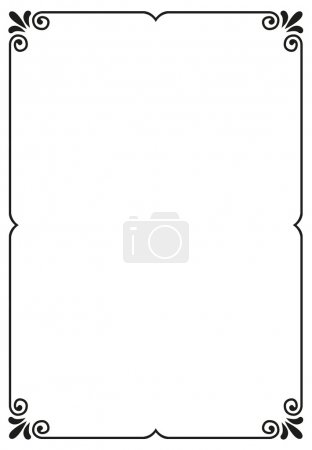 Illustration for Simple frame with copy space - Royalty Free Image