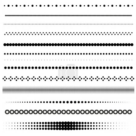 Dot dividers
