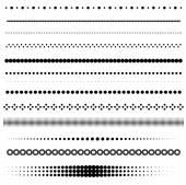 Dot dividers