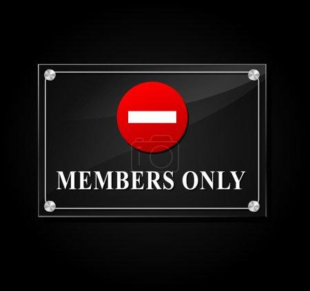 Les membres signent seulement