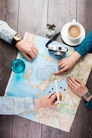 Travel planning two people