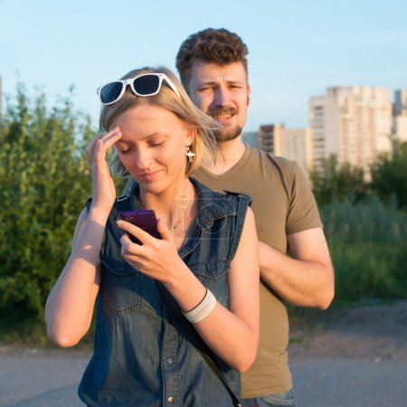 Young couple get lost in new district