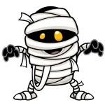 Vector illustration of mummy...