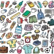 Vector Illustration of Different objects...