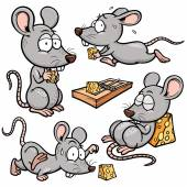 Cartoon-Ratte