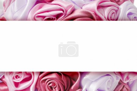 Gentle background from pink buds, one of a large set of floral b