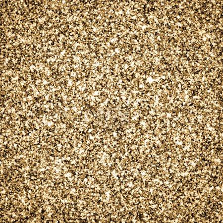 Photo pour Fond de paillettes d'or, texture abstraite - image libre de droit