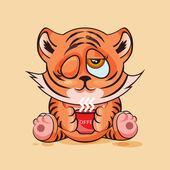 Tiger cub Good morning