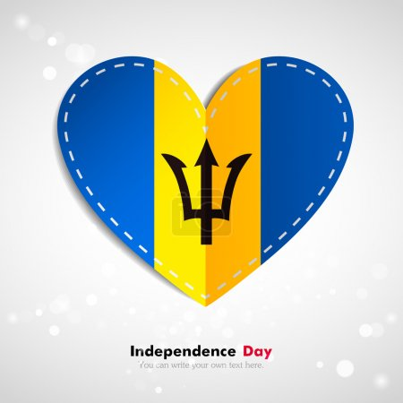 Flag of Barbados ,Independence Day