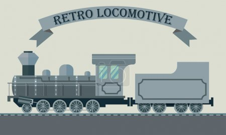 Retro locomotive