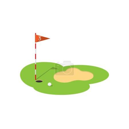 vector golf icon