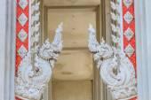 Thajské drak nebo král naga socha