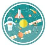 Постер, плакат: Space and astronomy