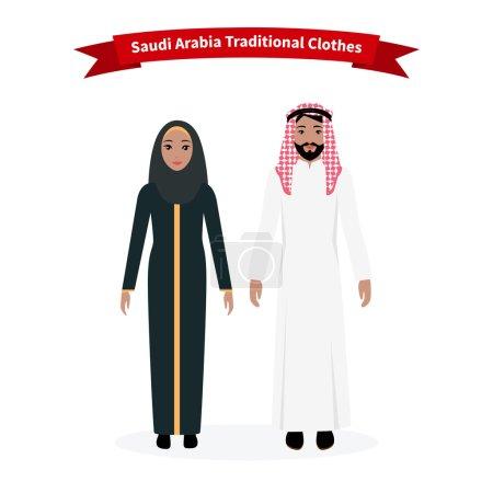 Saudi Arabia Traditional Clothes People