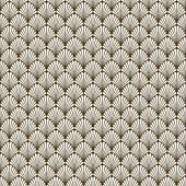 Nahtlose Art-Deco Hintergrund Muster Textur