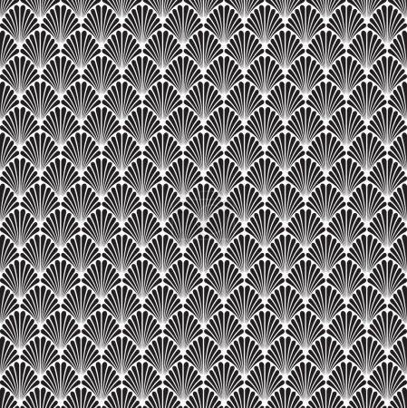 Seamless Art Deco Background Pattern Texture Wallpaper