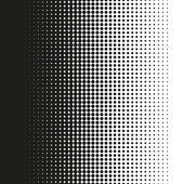 Fine halftone dots pattern gradient in vector format