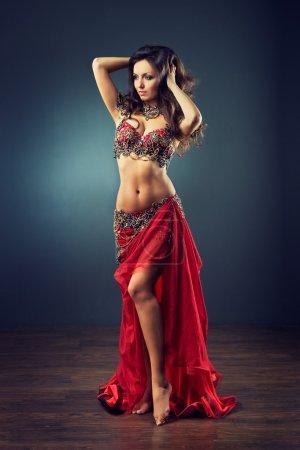 Ethnic woman Belly dancer