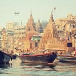 Ancient city of Varanasi, India...