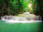 Beautiful Waterfall in the Jungle