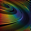 Постер, плакат: Design colorful helix movement illusion background