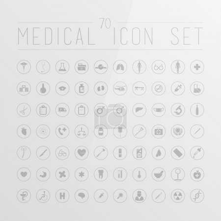 Medical icons for web