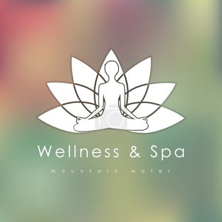 Abstract logo template for SPA