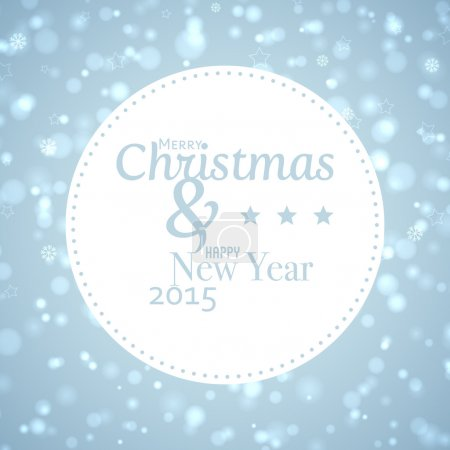 Marry Christmas And Happy New Year vector background