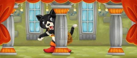 Foto de Ilustración tradicional alegre y colorida para los niños - Imagen libre de derechos
