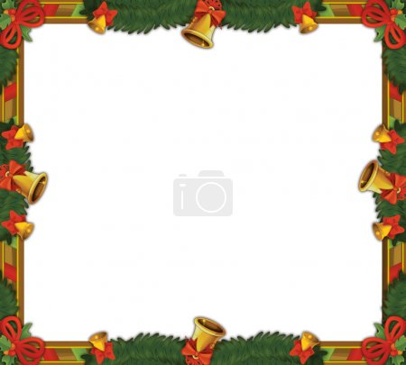 The christmas frame