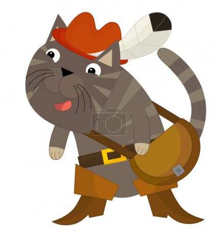 Cartoon cat - Puss in Boots