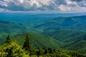 View of the Appalachians from Devils Courthouse, near the Blue R