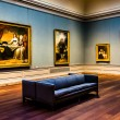 Gallery room in the National Gallery of Art, Washi...